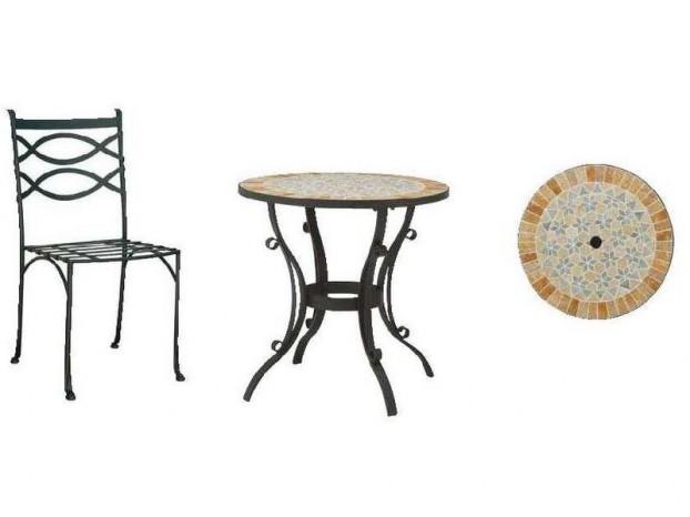ビーナス モザイク ビストロ テーブルセット