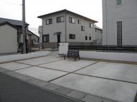 那珂市K様邸駐車場