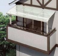 テラス屋根 ヴェクター凹凸外壁