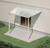 テラス屋根 ヴェクター側面台形