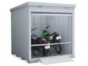 バイク保管庫 床付タイプ