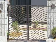 鋳物門扉 美流2型