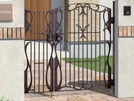鋳物門扉 フェアル-1型 三協立山アルミ