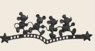 ディズニー壁飾り ミッキーC型