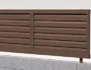 木樹脂フェンスJ3型