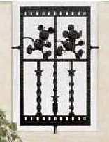 ディズニースリムフェンス ミッキーC型
