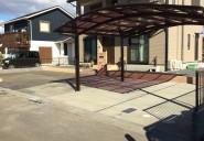 水戸市 S様邸駐車スペース